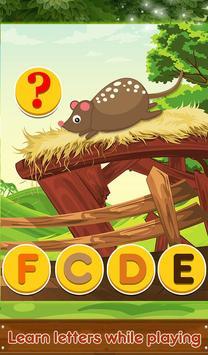Kids Alphabet Animals Mini Zoo screenshot 13