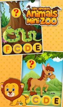 Kids Alphabet Animals Mini Zoo screenshot 14