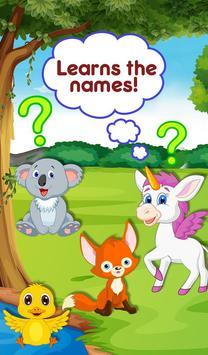 Kids Alphabet Animals Mini Zoo screenshot 1
