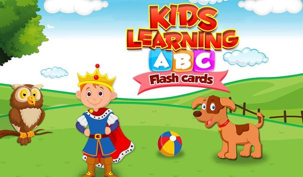 Kids Learning ABC Flash Cards poster