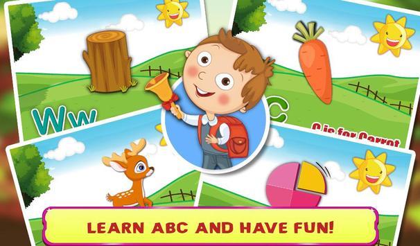 Kids Learning ABC Flash Cards screenshot 2