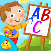 Kids Learning Letters Zone icon