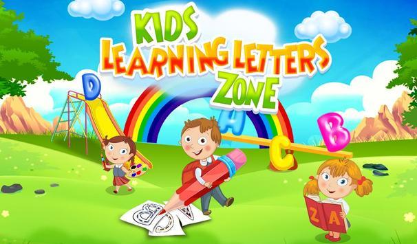 Kids Learning Letters Zone screenshot 10