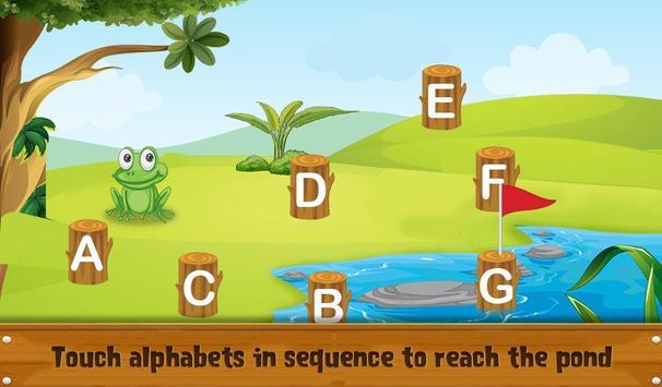 Kids Learning Letters Zone screenshot 4