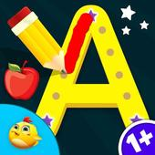 Kids Letters Tracing Worksheet icon