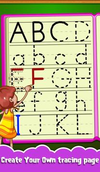 Kids Letters Tracing Worksheet screenshot 16