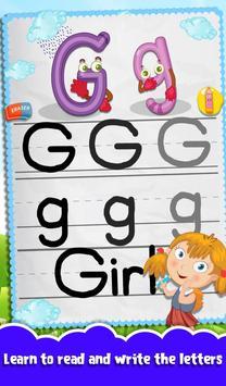 Kids Letters Tracing Worksheet screenshot 9