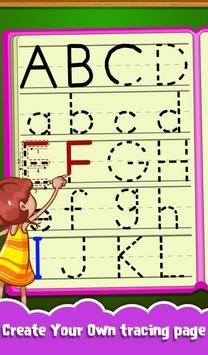 Kids Letters Tracing Worksheet screenshot 11