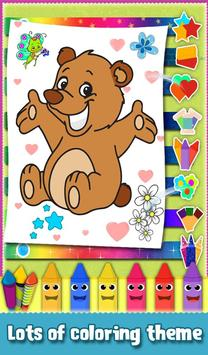 Kids Sparkles Coloring Book screenshot 1