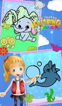 Kids Sparkles Coloring Book screenshot 3