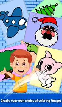 Kids Sparkles Coloring Book screenshot 4