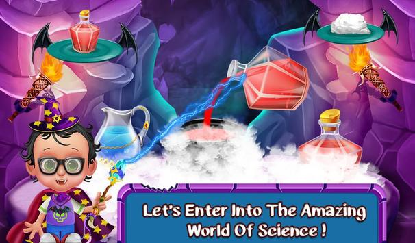 Halloween Science Experiments poster