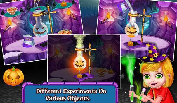 Halloween Science Experiments apk screenshot