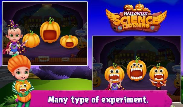 Halloween Science Learning apk screenshot