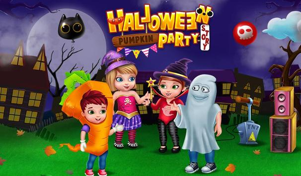 Halloween Pumpkin Party Story poster