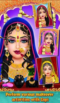 Indian Gopi Fashion Doll Salon poster