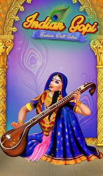 Indian Gopi Fashion Doll Salon screenshot 1