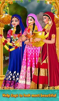 Indian Gopi Fashion Doll Salon screenshot 2