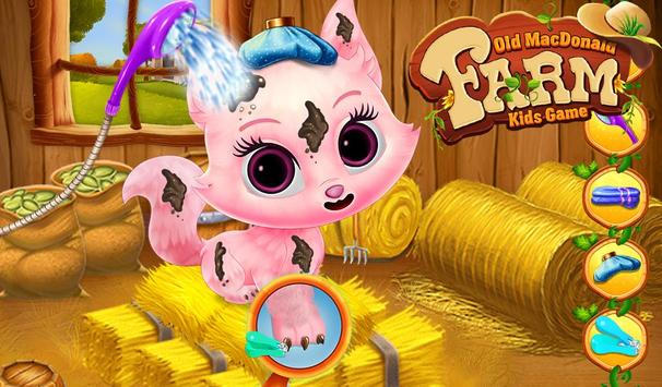 Old MacDonald Farm Kids Game screenshot 16