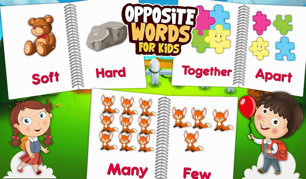 Opposite Words For Kids for Android - APK Download