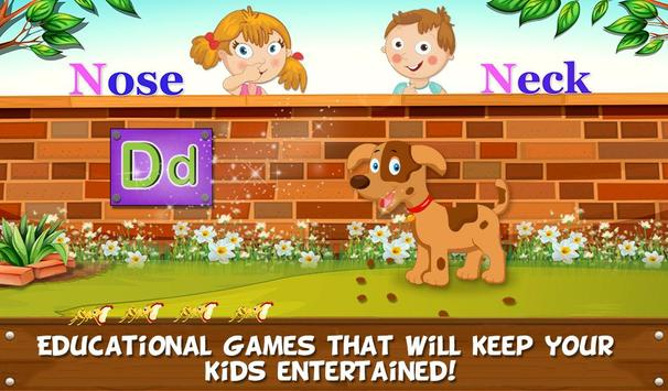 Learning Sight Words Game screenshot 1