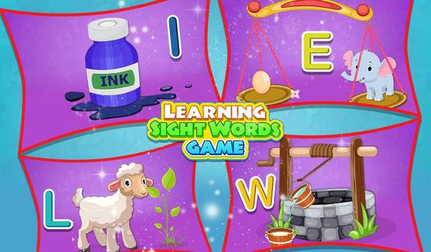 Learning Sight Words Game screenshot 8