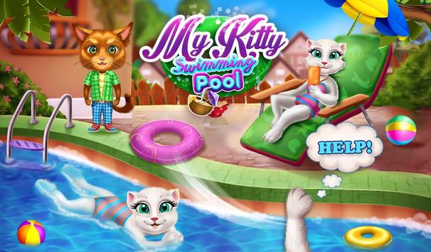 My Kitty Swimming Pool screenshot 15