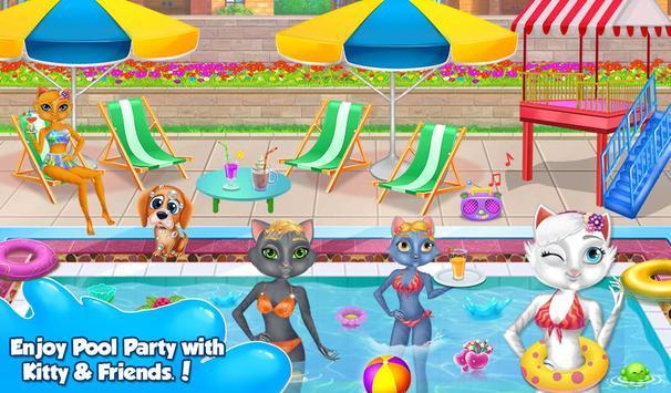 My Kitty Swimming Pool screenshot 1