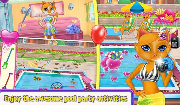 My Kitty Swimming Pool screenshot 4