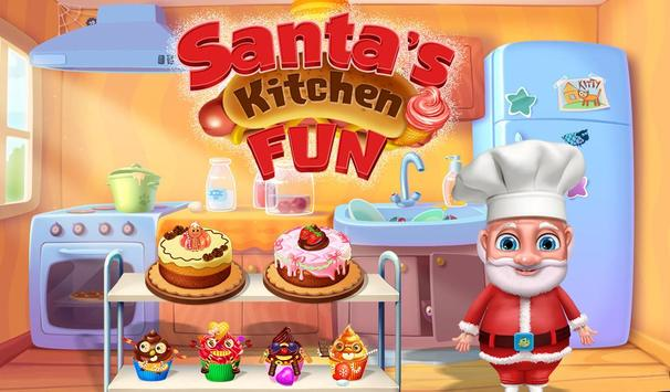 Santa's Kitchen Fun poster