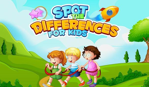 Spot The Differences For Kids poster