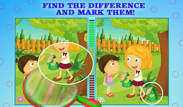 Spot The Differences For Kids screenshot 12