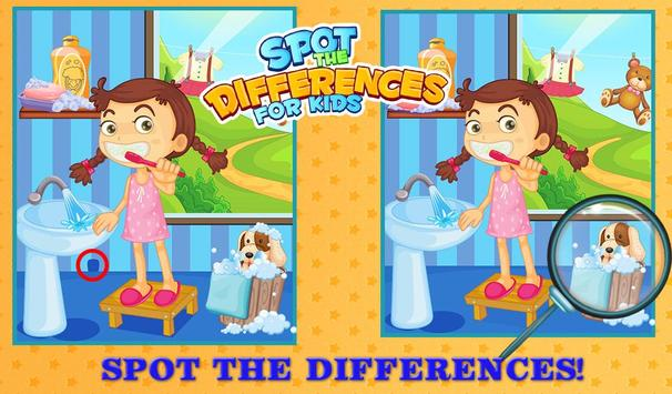 Spot The Differences For Kids screenshot 1