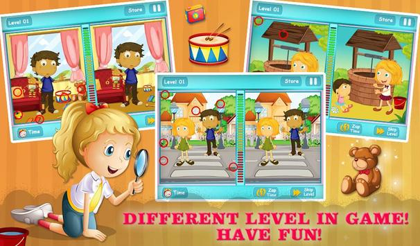 Spot The Differences For Kids screenshot 9