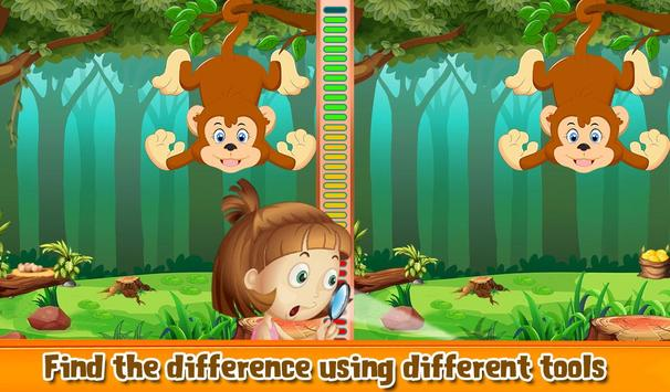 Spot The Differences Animal screenshot 1