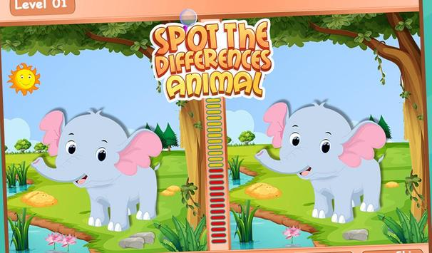 Spot The Differences Animal screenshot 2