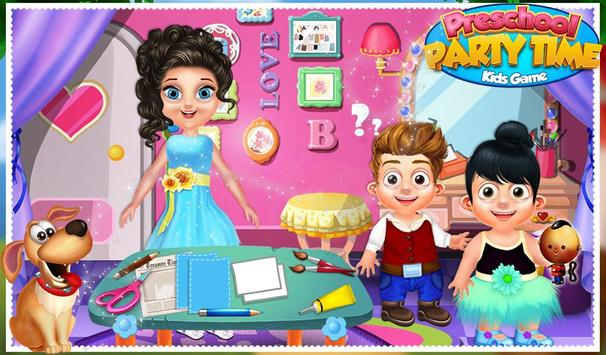 Preschool Party Time Kids Game poster