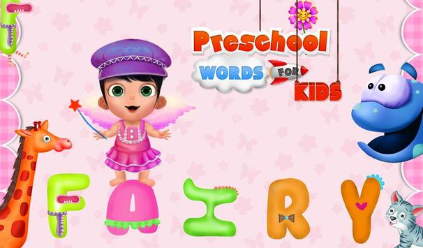 PreSchool Words For Kids apk screenshot
