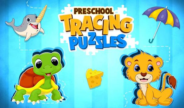 Preschool Tracing Puzzles poster