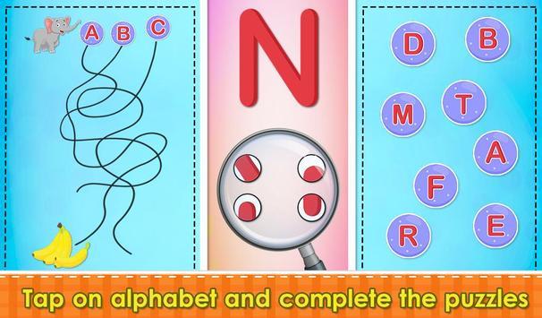 Preschool Tracing Puzzles screenshot 10