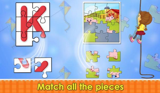Preschool Tracing Puzzles screenshot 17