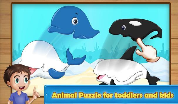 Preschool Zoo Puzzles For Kids screenshot 2