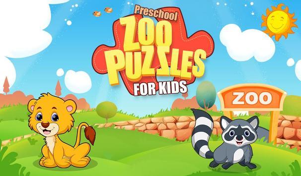 Preschool Zoo Puzzles For Kids screenshot 8