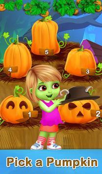 Pumpkin Builder For Halloween poster