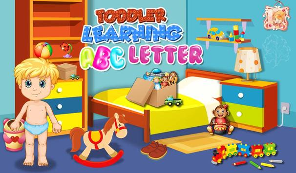 Toddler Learning ABC Letter poster