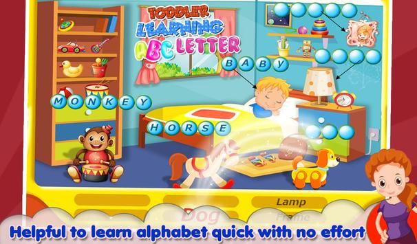 Toddler Learning ABC Letter screenshot 1