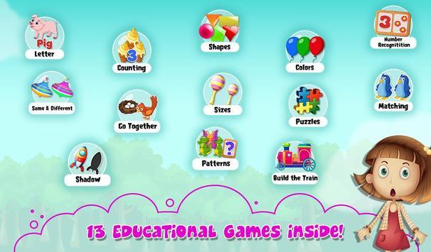 Toddlers Basic Skill School screenshot 1