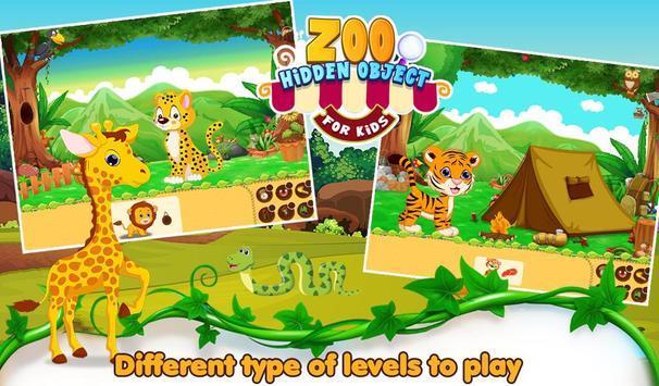 Zoo Hidden Object For Kids screenshot 4