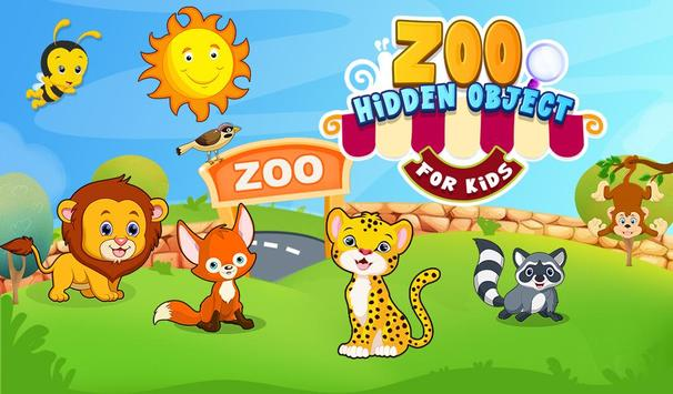 Zoo Hidden Object For Kids poster
