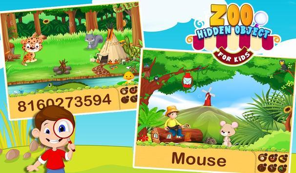 Zoo Hidden Object For Kids screenshot 14